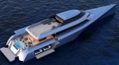 Luxury trimaran MC155 - A Design Unlimited collaboration