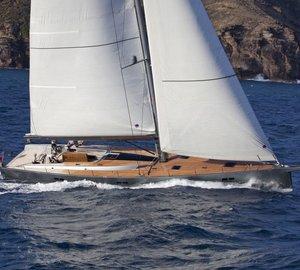 Charter award-winning sailing yacht Aegir II in the Western Mediterranean