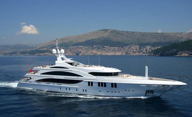 Luxury yacht ANDREAS L (ex.AMNESIA) - Built by Benetti