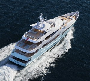 Luxury motor yacht Blush available for charter in the Western Mediterranean