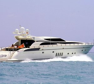 Open yacht Cheeky Tiger available for Mediterranean charter