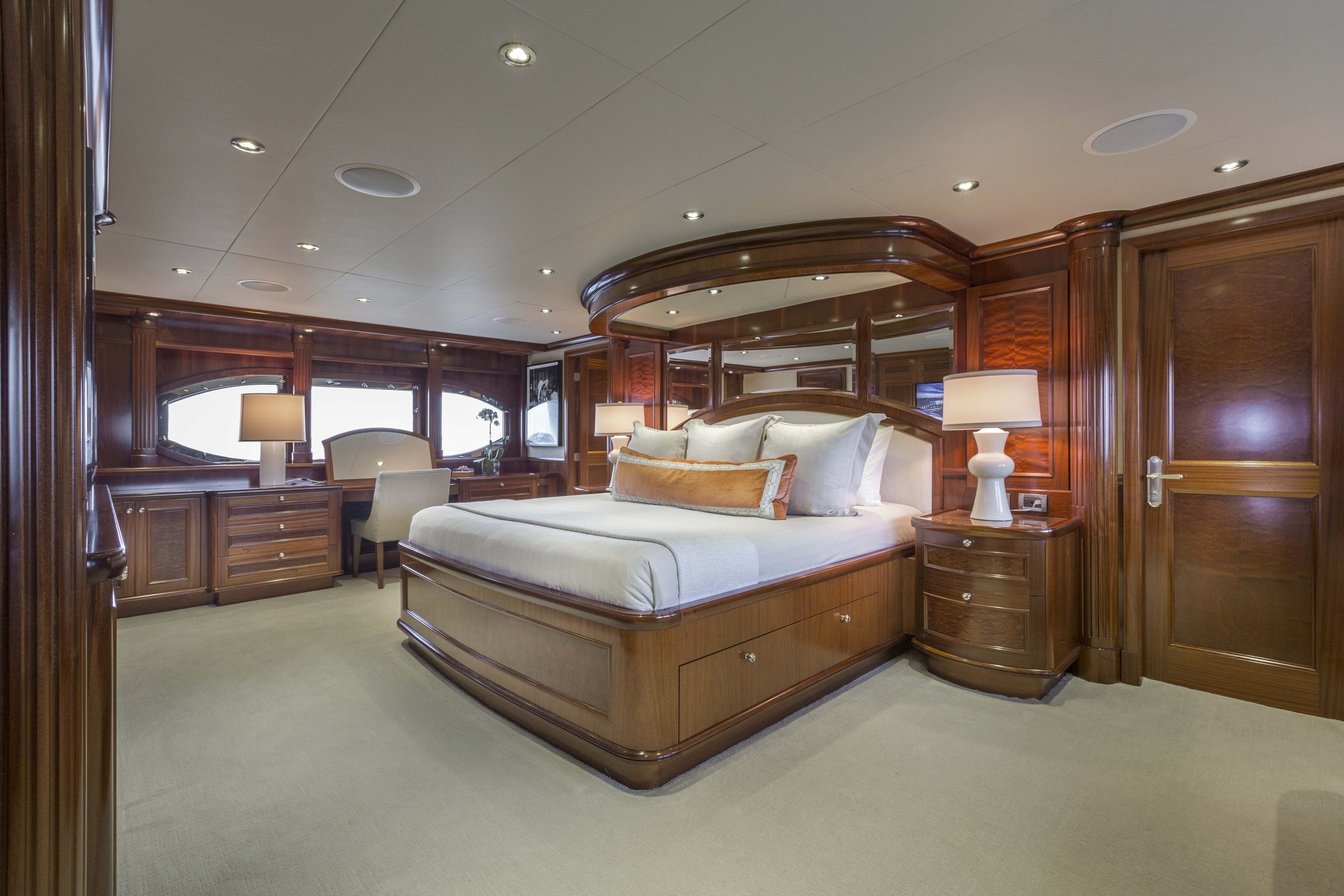 Luxury Yacht Far From It Master Suite Yacht Charter Superyacht News