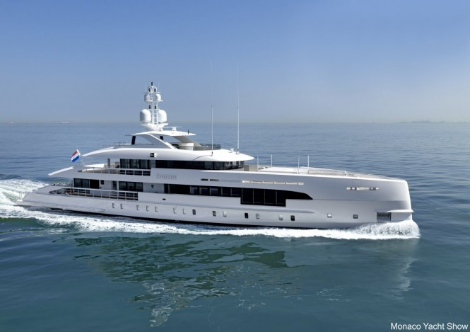 Luxury yacht HOME - Built by Heesen