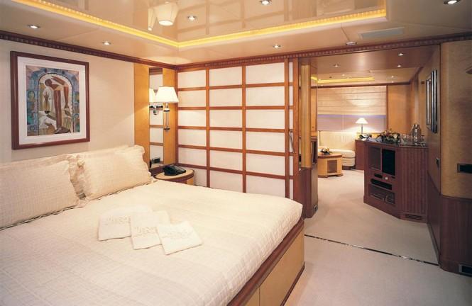 Luxury yacht KANALOA - Master suite