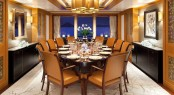 Luxury yacht LADY BRITT - Formal dining area