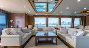 Luxury yacht MASTEKA 2 - Main salon