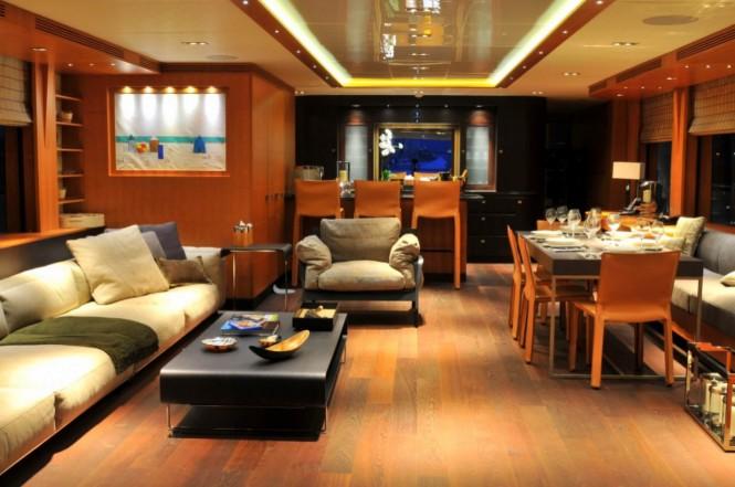 Luxury yacht MEYA MEYA - Salon