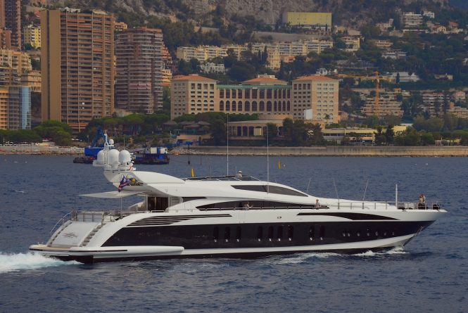 Luxury yacht PURE ONE - Built by Leopard. Photo credit Didier Didairbus