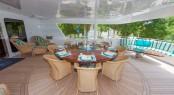 Luxury yacht RELENTLESS - Main deck aft