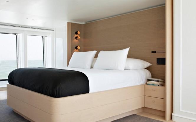 Luxury yacht RH3 - Master suite