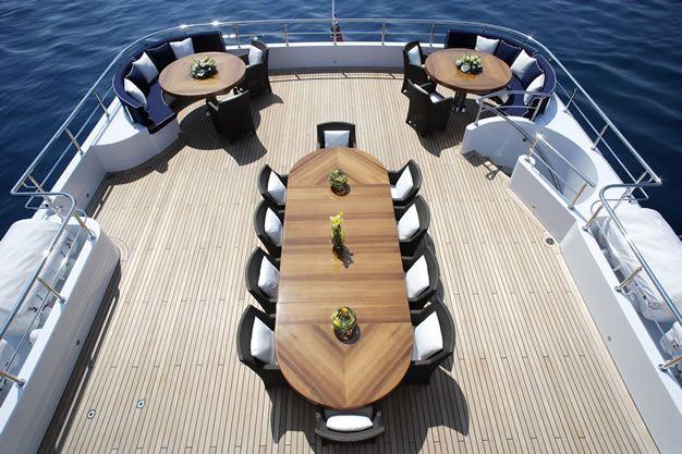 Luxury yacht SEQUEL P - Sundeck