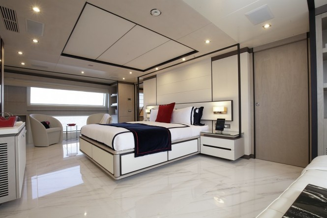 Luxury yacht WILLOW - Master suite