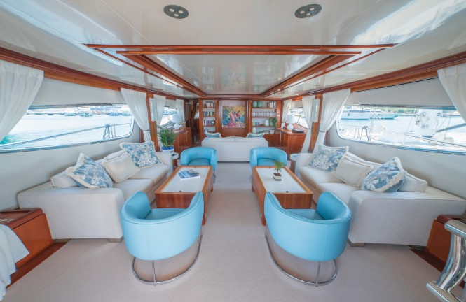 Luxury yacht ZAMBEZI - Main salon