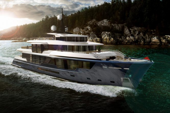 MCP 120 - Naval architecture by Vripack for MCP Yachts