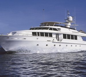 Charter M/Y Savannah in New England