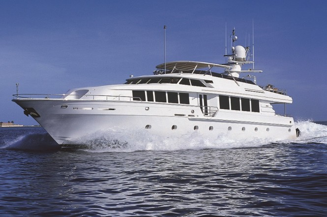 M/Y SAVANNAH - Built by Intermarine and available for charter in New England