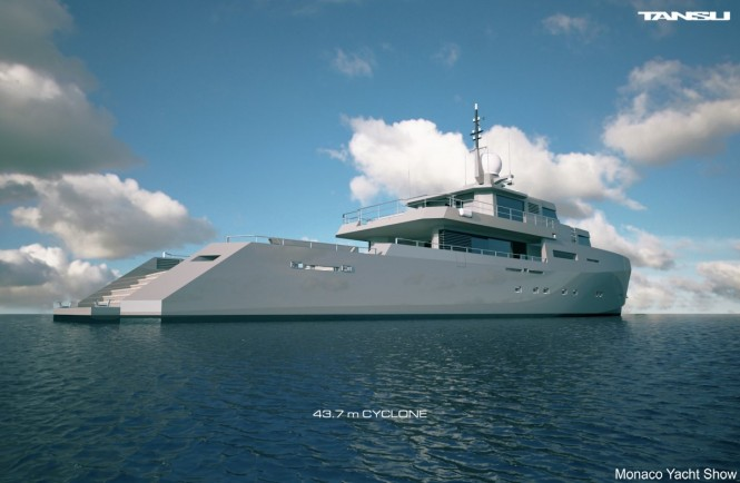 Military-styled M/Y CYCLONE from Tansu Yachts