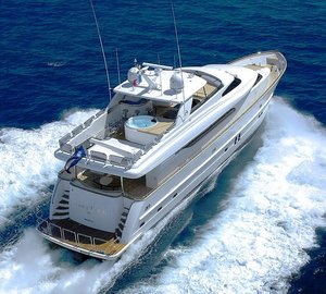 Charter motor yacht Annabel II in the incredible Eastern Mediterranean