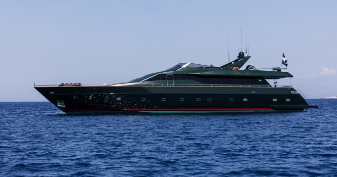 Motor yacht CAN'T REMEMBER - Built by Tecnomar
