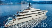 Motor yacht CLOUD 9 will make her public debut at the Monaco Yacht Show. Image courtesy of CRN Yachts