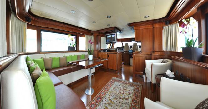 Motor yacht CONQUISTADOR - Skylounge