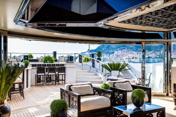 Motor yacht LIONESS V - Sundeck