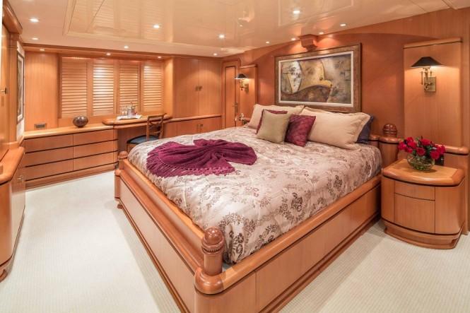Motor yacht SAVANNAH - Master suite