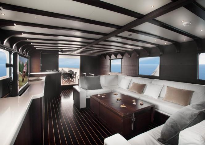 Motor yacht SEMAYA - Main salon