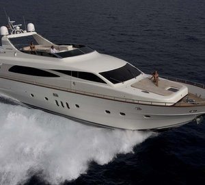 Charter luxury yacht Talyne in the Eastern Mediterranean