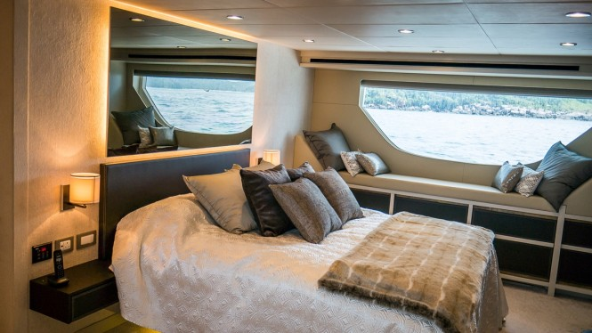 Open yacht DOLCE VITA - Master suite