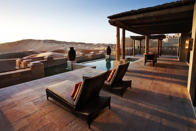 Qasr al Sarab Villa view - Image credit to Visit Abu Dhabi