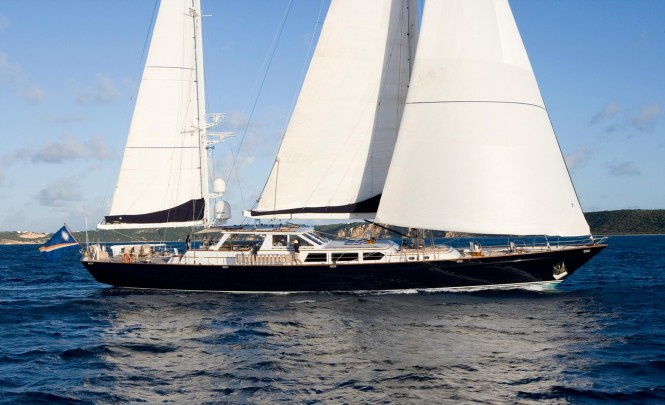S/Y AXIA - Built by Palmer Johnson