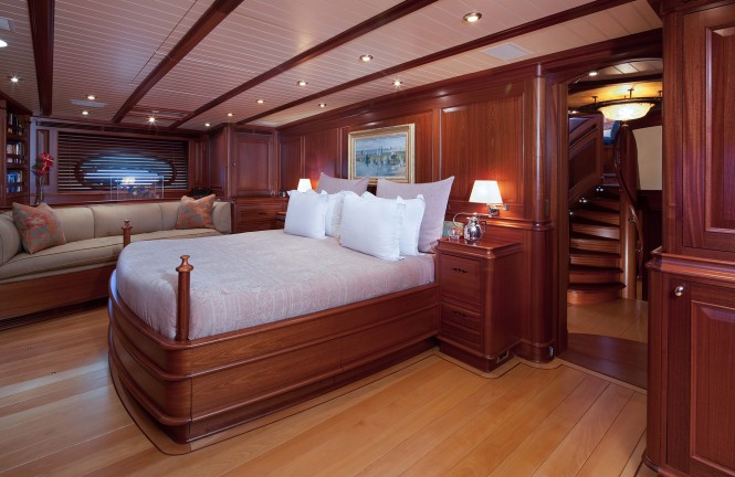 Sailing yacht ATHOS - Master suite