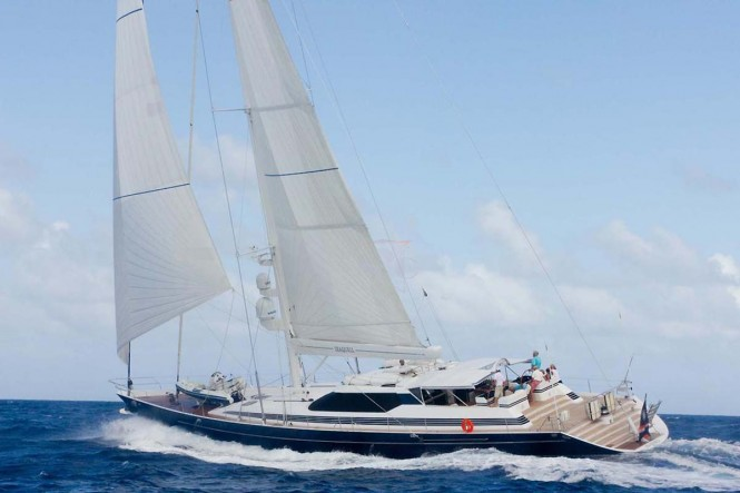 Sailing yacht SEAQUELL - Built by Alloy Yachts