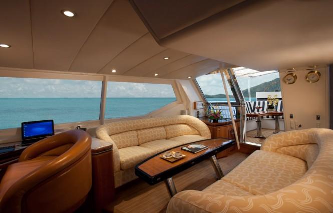 Sailing yacht SEAQUELL - Wheelhouse