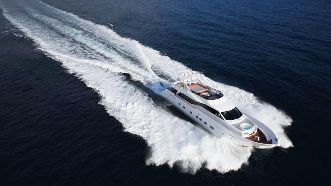 Superyacht AURORA - Built by Tecnomar