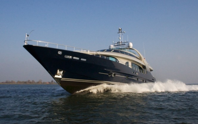 Superyacht BLUE MAMBA - Built by Oceanline