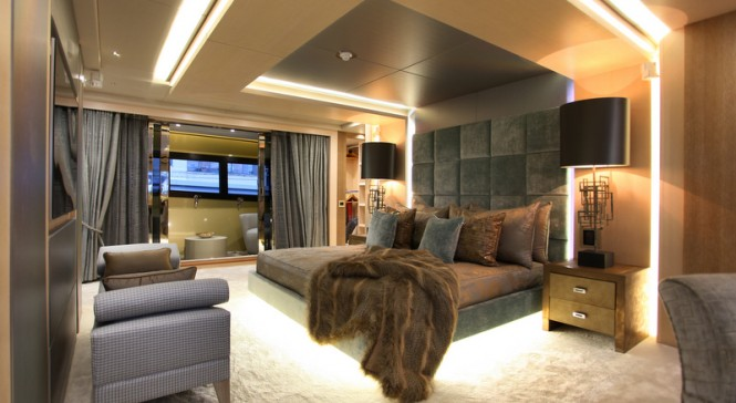 Superyacht BLUSH - Master suite
