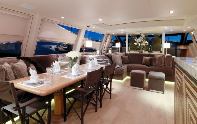 Superyacht CHEEKY TIGER - Salon