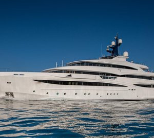 M/Y Cloud 9 available for charter in the Caribbean this winter season