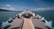 Superyacht DOLCE VITA - Foredeck sunpads and seating