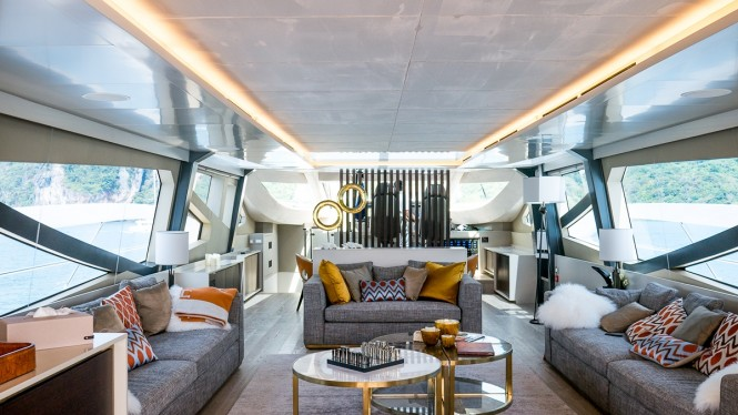 Superyacht DOLCE VITA - Salon