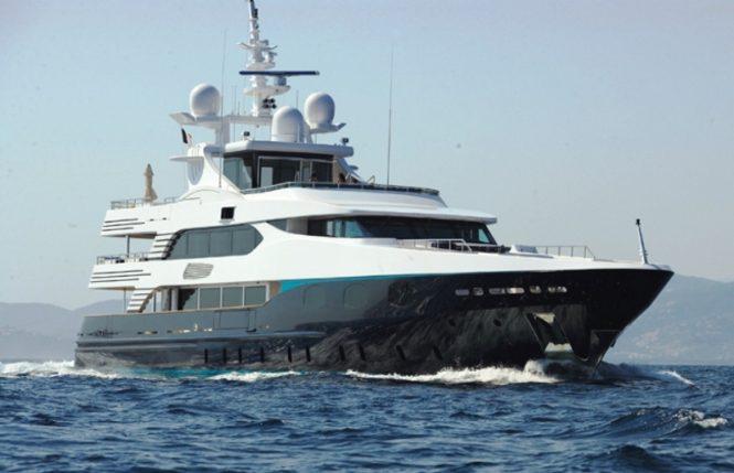 Superyacht ELENI (ex.ALIBI) - Built by CBI Navi