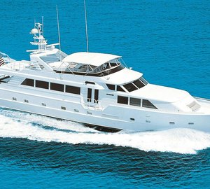 Special offer: 10% off superyacht Insatiable on Florida and Bahamas charters