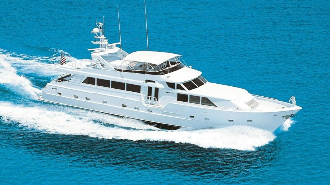 Superyacht INSATIABLE - Built by Broward Marine