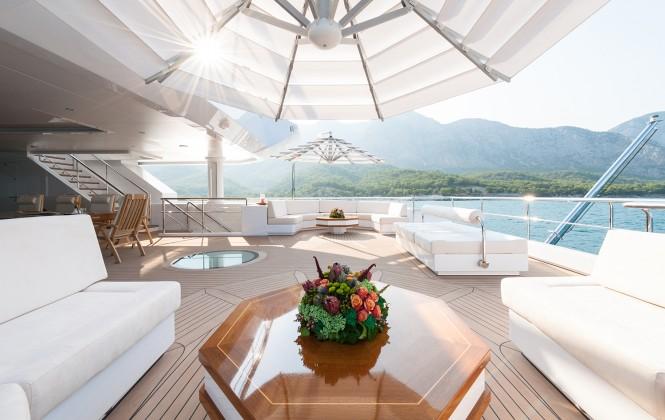 Superyacht IRIMARI - Upper deck exterior