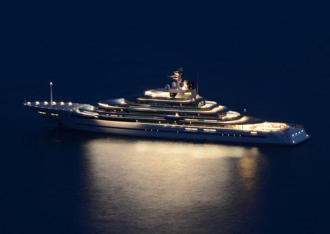 Superyacht JUBILEE. Photo credit - Didier Didairbus