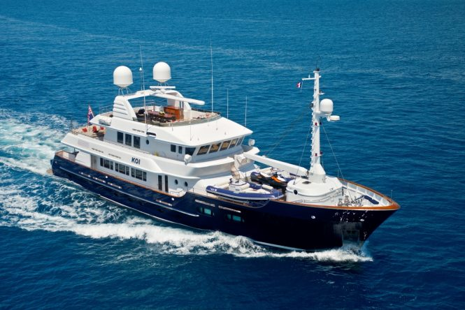 Superyacht KOI - Built by McMullen & Wing