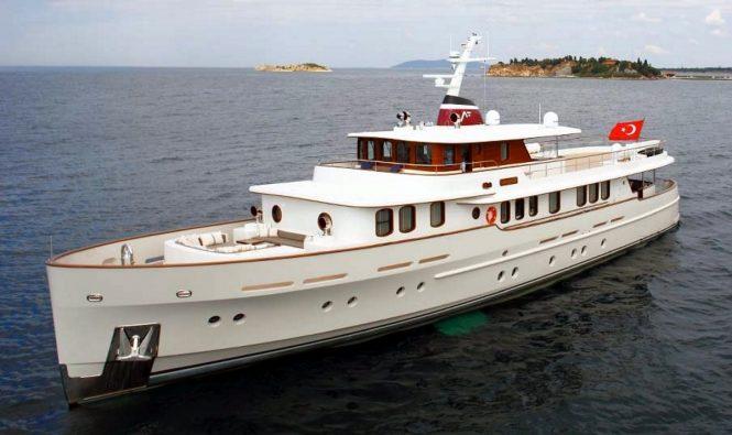 Superyacht LANIAKEA (SMY36) - Built by Su Marine. Image credit Taka Yacht Design