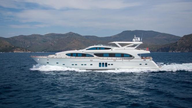 Superyacht MADNESS - Built by Bilgin Yachts